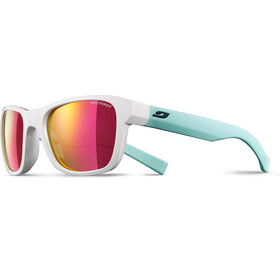 Julbo Reach L Spectron 3CF Sunglasses Junior 10-15Y White/Green-Multilayer Pink